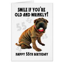 55th Birthday Quotes Funny 55th Birthday Cards Greeting Photo Cards Zazzle