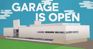 custom designed modern contemporary garage doors in la orange co
