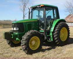 2005 john deere 6420 mfwd tractor item v9511 sold march
