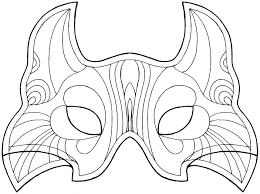 5 best images of printable mask patterns free printable african
