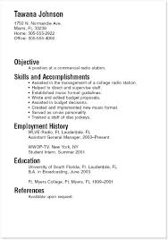 exle of resume for students resume student exles