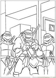 coloring ninja turtle printables kids colouring pages coloring