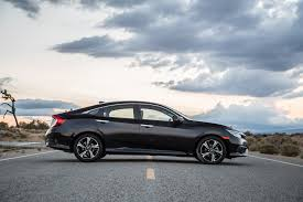 2016 Honda Civic Touring Sedan Black Side Exterior 7403 Cars