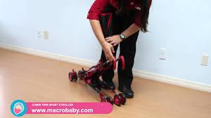 Kolcraft Umbrella Stroller With Canopy by Macrobaby Delta Disney Umbrella Stroller Youtube