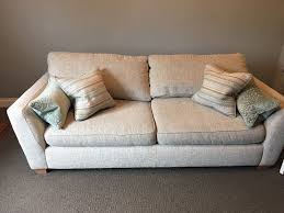 Pre Owned Chesterfield Sofa by Beautiful Sophia Dfs Furniture Suite In Ashby De La Zouch
