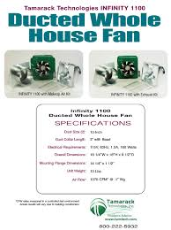 16 inch whole house fan infinity 1100 ducted whole house fan specifications infinity