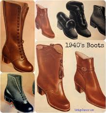 s boots style vintage retro boots styles for winter 1940s vintage and fashion