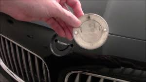 bmw emblem ornament badge roundel removal on bmw z4 e85