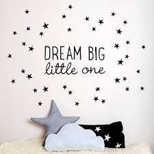 dream big little one wall sticker by koko kids dream big little one wall sticker