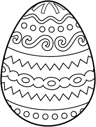 Cracked Easter Egg Coloring Page Pages Kids On Design Archives For Egg Colouring Page