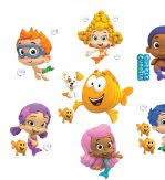 Bubble Guppies Bedroom Decor Sweet Smile Face All Charaters With Big Nemo Orang Fish Bubble