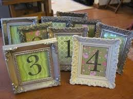 Picture Frame Centerpieces by 43 Best Wedding Table Decorations Images On Pinterest Marriage