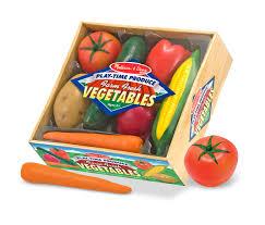 amazon com melissa u0026 doug playtime produce vegetables play food