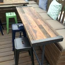 reclaimed wood outdoor table reclaimed wood garden table uk hotrun