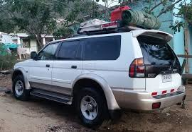 old mitsubishi montero 2000 mitsubishi montero sport 4x4 camper for sale april may 2017