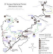 National Forest Map Colorado by El Yunque National Forest Maplets