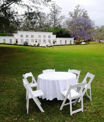 chair table rental event furniture hire durban chairs tables