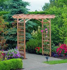 amazon com arboria berkeley arbor cedar wood large depth over