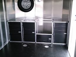 V Nose Enclosed Trailer Cabinets by Videos And Photos