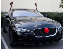 reindeer antlers for car reindeer antlers nose car vehicle costume rudolph