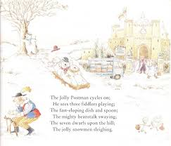 december book 10 jolly christmas postman story