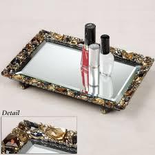 home decor tray for perfume vanity tray vanity mirror trays