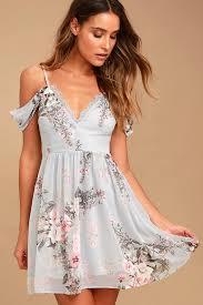 light blue dress lovely light blue dress floral print dress ots dress lace