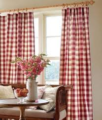 plaid living room french country curtains beautify your living