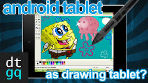 use your android tablet to draw on pc tut youtube