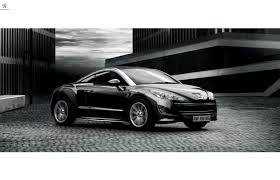 peugeot rcz black my dream car u2026peugeot rcz dr koh kho king