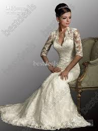 dh wedding dresses wholesale 2013 white dresses v neck 3 4 sleeves mermaid lace