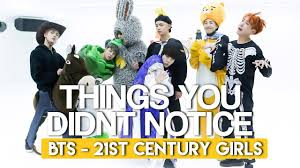 halloween dance images things you didn u0027t notice in bts 21st century dance practice