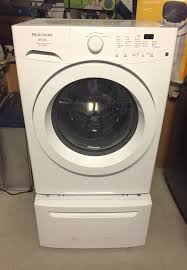 Frigidaire Washer Dryer Pedestal Frigidaire Affinity Model Fafw3801lw5 Front Load Washer With