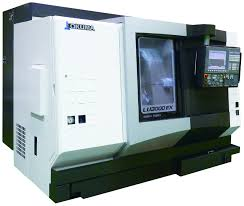 okuma u0027s new lu3000 ex m 4 axis lathe offers high production and