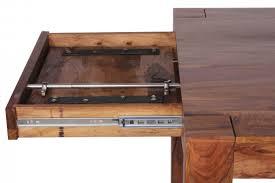 Esszimmertisch Zum Ausziehen Finebuy Esstisch Massivholz Sheesham 160 240 Cm Ausziehbar
