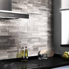 adhesif carrelage mural cuisine carrelage cuisine gris fashion galerie avec carrelage mural gris