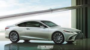lexus lc 500 rival para el bmw m4 y si el lexus ls 2018 tuviera una variante coupé sin duda sería