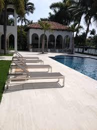 pool deck featuring 12 u201d x 24 u201d coliseum stone rustic travertine