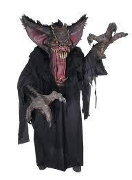 horrifying halloween costumes creature reacher gruesome bat big bat u0026 scary halloween