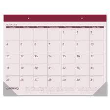 desk planner template at a glance fashion color monthly desk pad mac papers inc original original