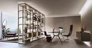 mensole rovere grigio rimadesio porte scorrevoli in vetro e alluminio librerie cabine