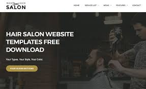 download layout html5 css3 free download html5 css3 website template for men s hair salon sites