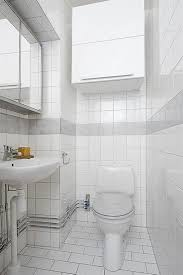 small white bathroom storage interior design