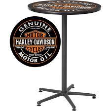Harley Davidson Patio Lights by Harley Davidson Oil Can Cafe Table U2014 41in H Www Kotulas Com