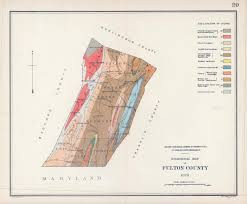 Bucks County Map Antique Geological Maps