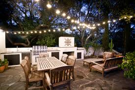 exterior design outdoor patio with outdoor dining and outdoor