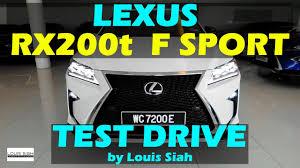lexus hatchback price malaysia 2017 malaysia lexus rx200t f sport test drive review