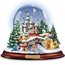 Disney Outdoor Christmas Decorations Uk by Amazon Com Disney Figures Snow Globe U0027musical Snowglobe