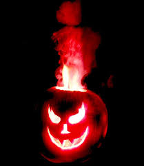 Halloween Pumpkin Lantern - best flame thrower jack o lantern idea