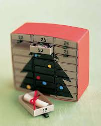 m is for matchbox advent calendar martha stewart